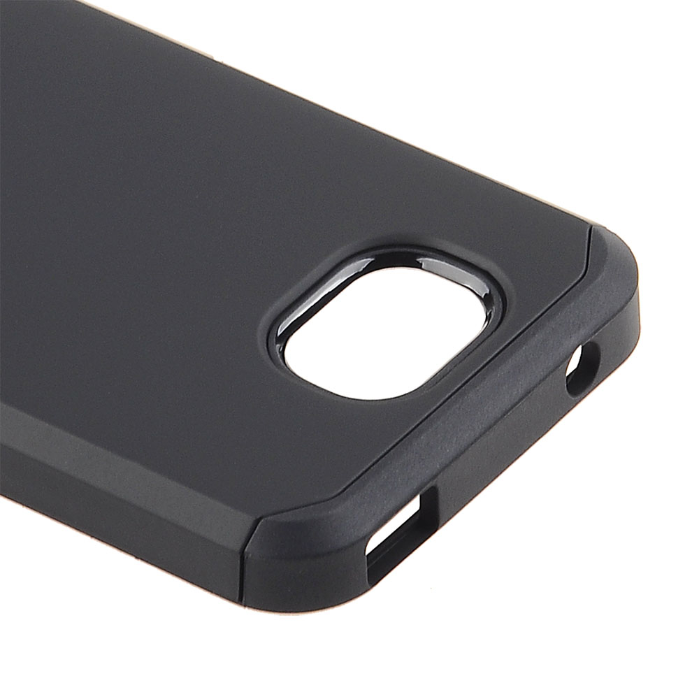 Alcatel Tetra - Solid Black Honey Leather Back Cover on